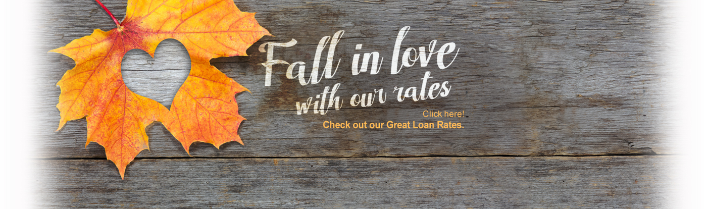 Fall For Our Rates