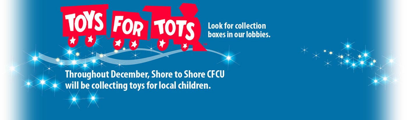 Toys For Tots Banners : Shore to community fcu home page